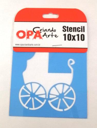 Stencil OPA 10x10
