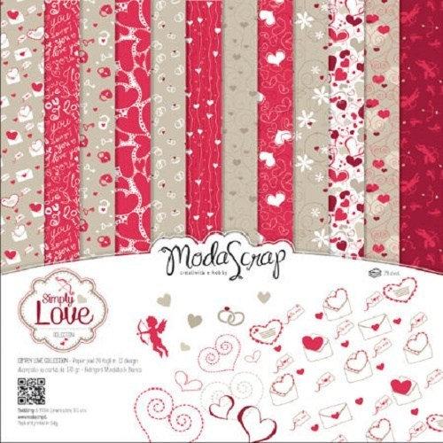 Kit Scrap MODA SCRAP Simply Love