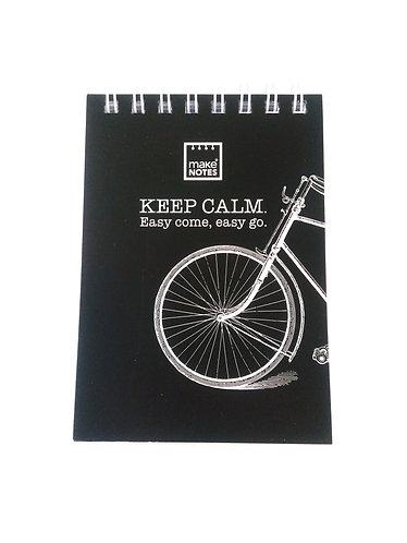 Bloco de notas Keep Calm