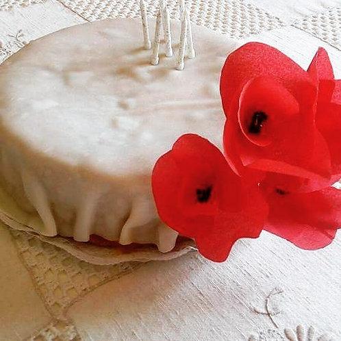 Papoilas de papel crepe