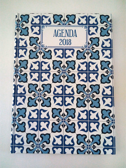 Agenda Semanal Azulejo A5
