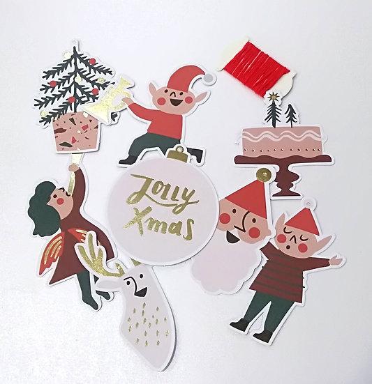 Etiquetas Jolly Christmas