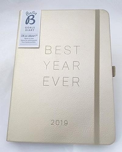 Agenda Semanal Best Year Ever 2019