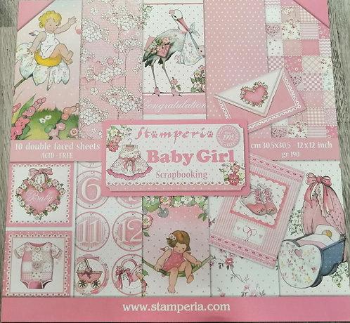 Kit de Scrap STAMPERIA Babby Girl