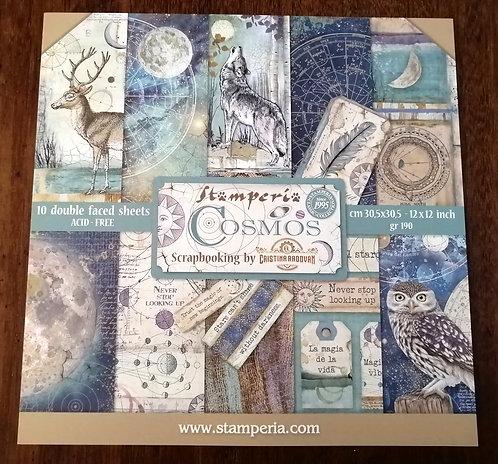 Kit Scrap Stamperia Cosmos