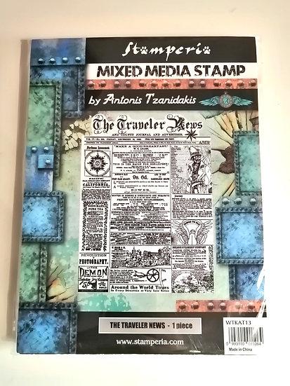 Mixed Media Stamp STAMPERIA
