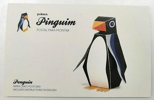 Postal Pinguim PUKACA