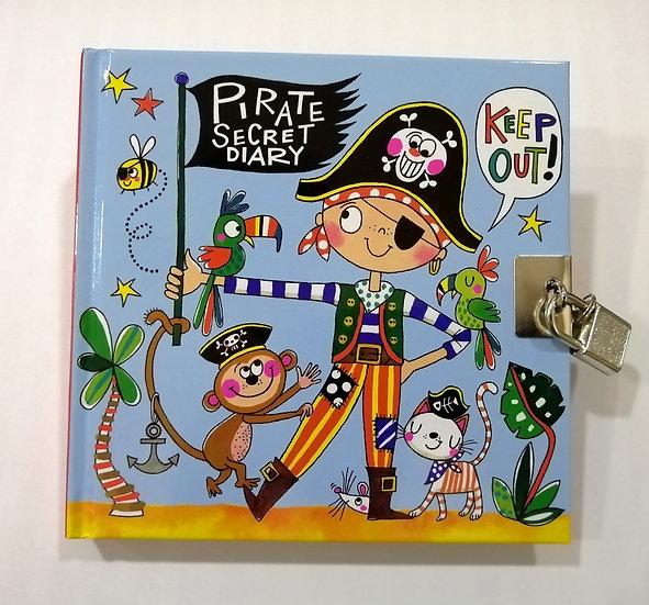 Diário Secreto Pirate