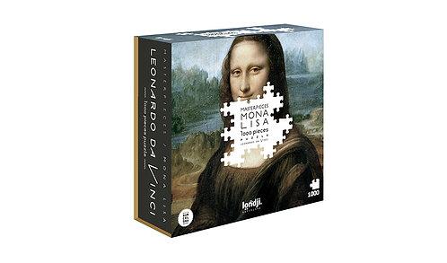Mona Lisa Da Vinci Puzzle