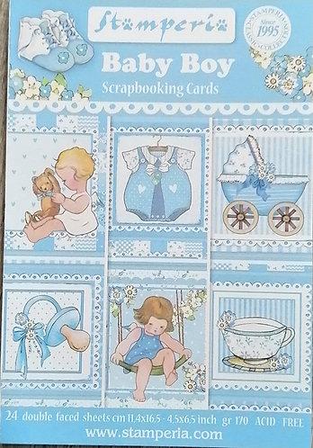 Cartões STAMPERIA Baby Boy