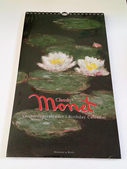 Calendário de Aniversários Monet