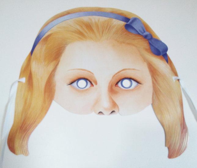 Máscara ALICE IN WONDERLAND