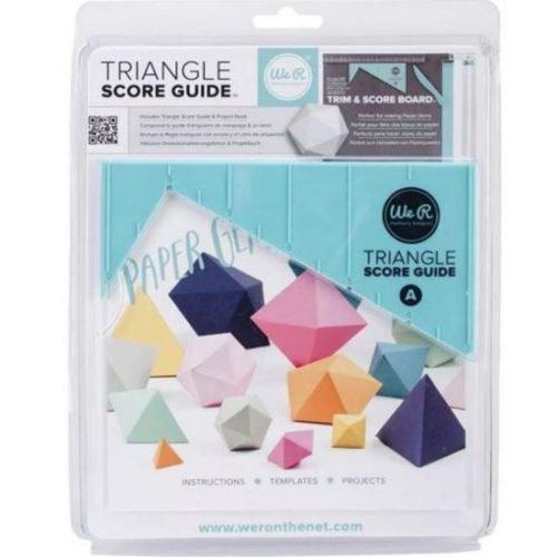 Régua Triangular com escala WeR