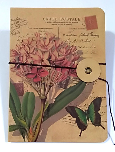 Notepad Vintage A6