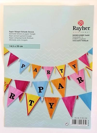 Bandeirolas para decorar RAYHER