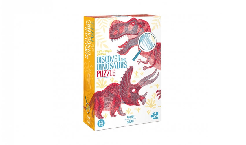 Discover the Dinosaurs Puzzle LONDJI