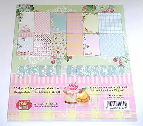 Kit Scrap CRAFT & YOU Sweet Dessert