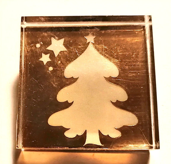 Carimbo ARTOZ Árvore de Natal