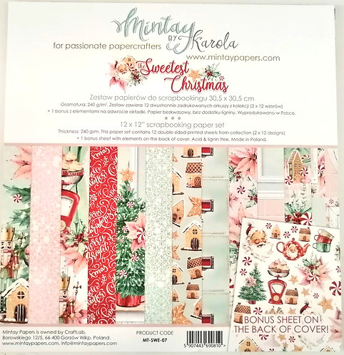 Kit Scrap MINTAY The Sweetest Christmas