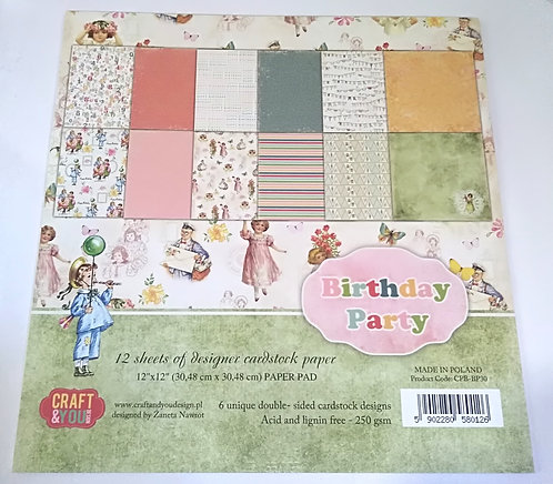 Kit Scrap CRAFT & YOU Birthday Party