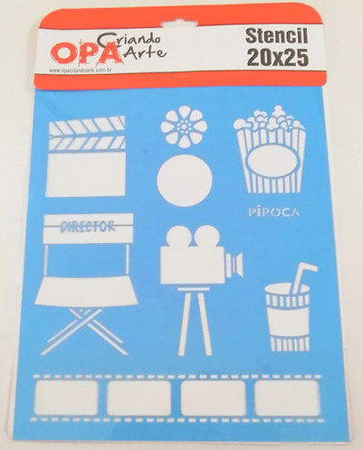 Stencil OPA 20x25