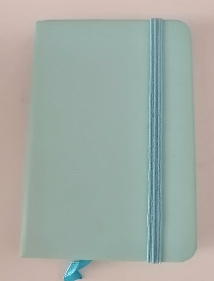 Caderno A7 Azul bebé