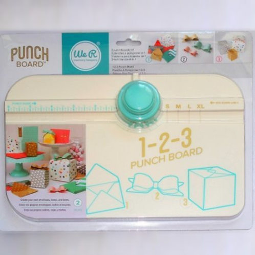 1-2-3 Punch Board AMERICAN CRAFTS