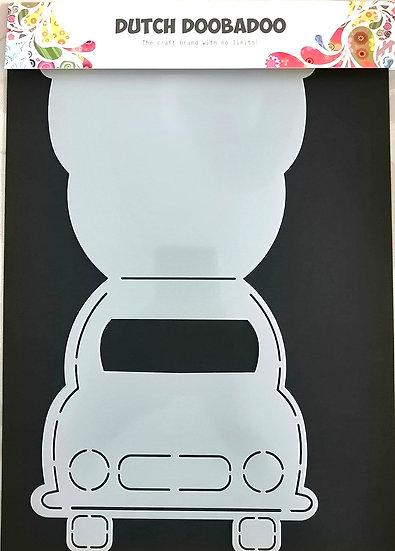 Molde em forma de Carro