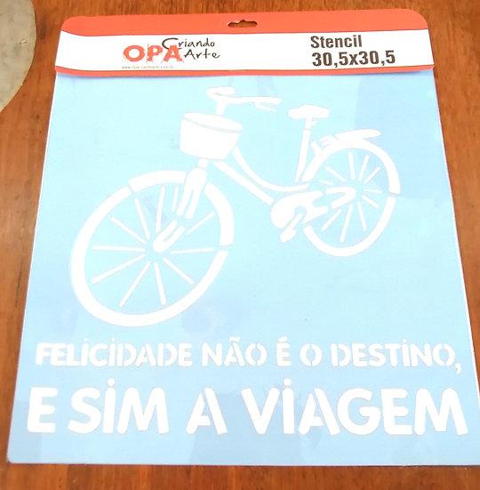 Stencil OPA 30.5x3.5