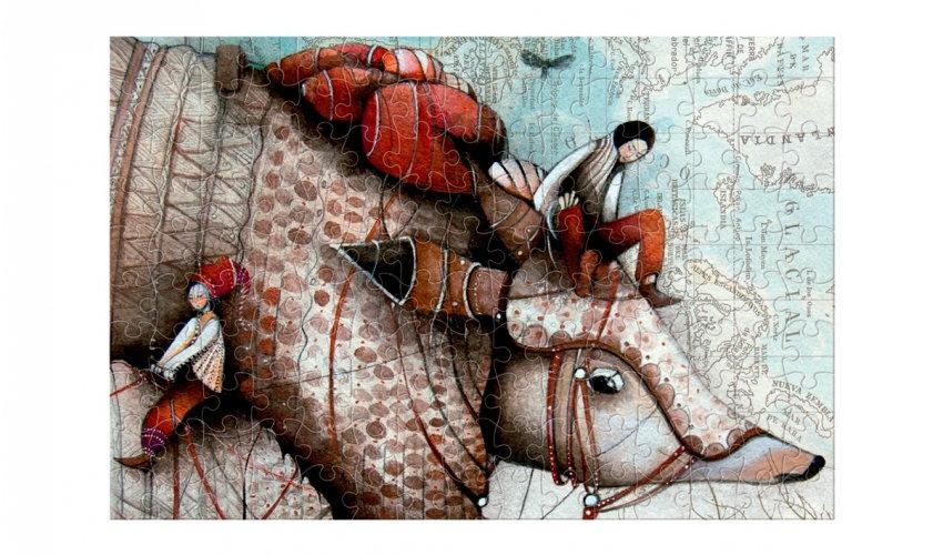 Mon Voyage avec Tatou Micro Puzzle LONDJI