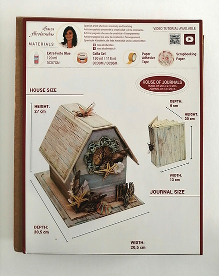 Kit de Cartonagem House of Journal