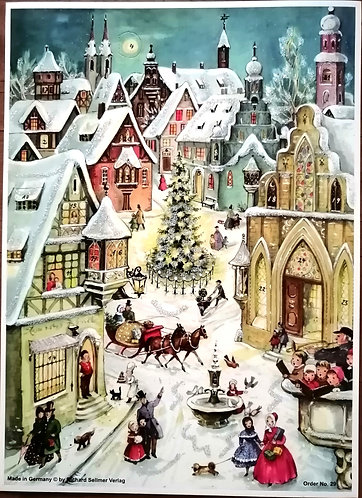Advent Calendar by Richard Sellmer Verlag