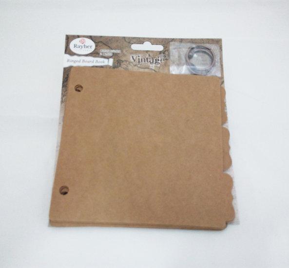 Álbum vintage quadrado