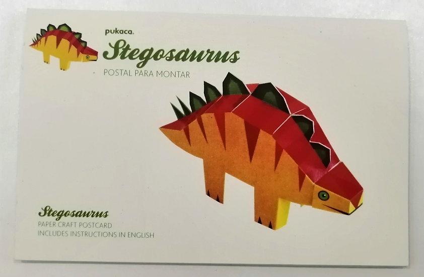 Postal Stegosauros PUKACA