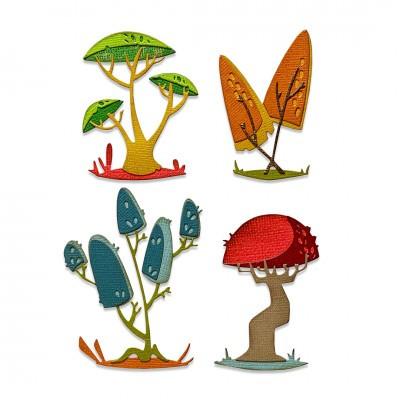 cortante-sizzix-thinlits-cogumelos-diver