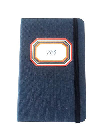 Agenda Semanal Azul A6
