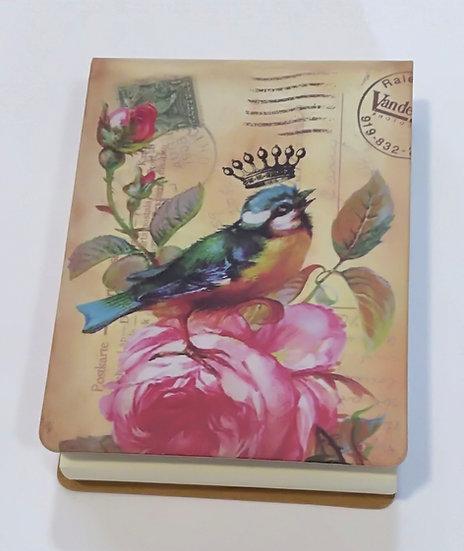Mini Notepad Vintage