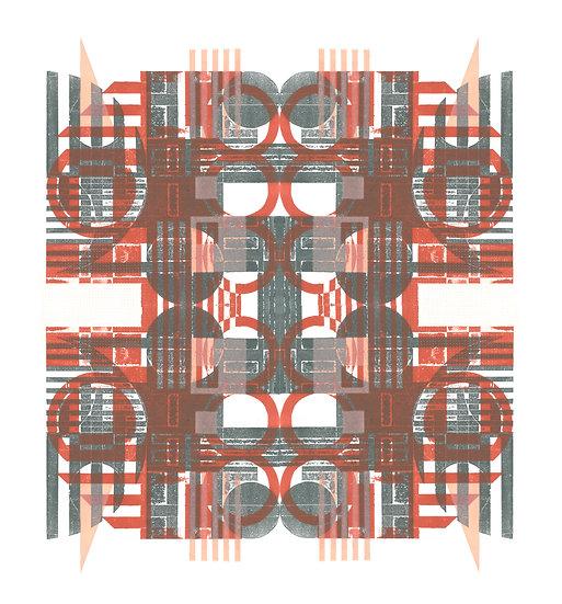 Tiled Olisipo II, Edition of 25 prints, 2020