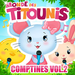 cd streaming comptines chansons titounis 2