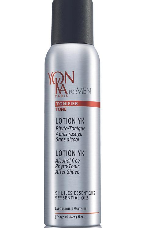 LOTION YK (phyto-tonique après rasage, sans alcool)