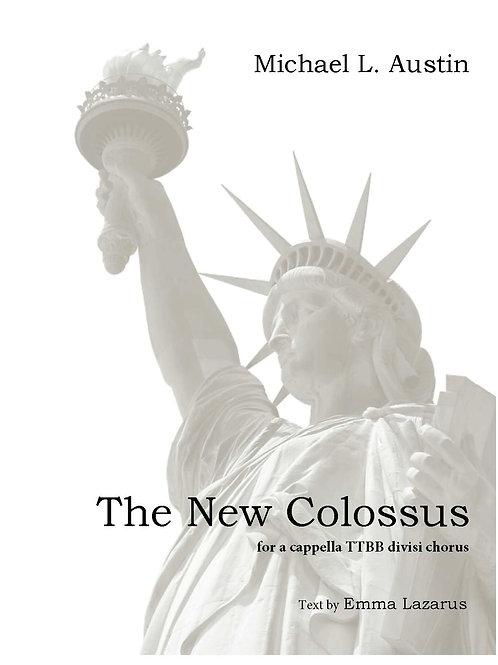 """The New Colossus"" (TTBB divisi)"