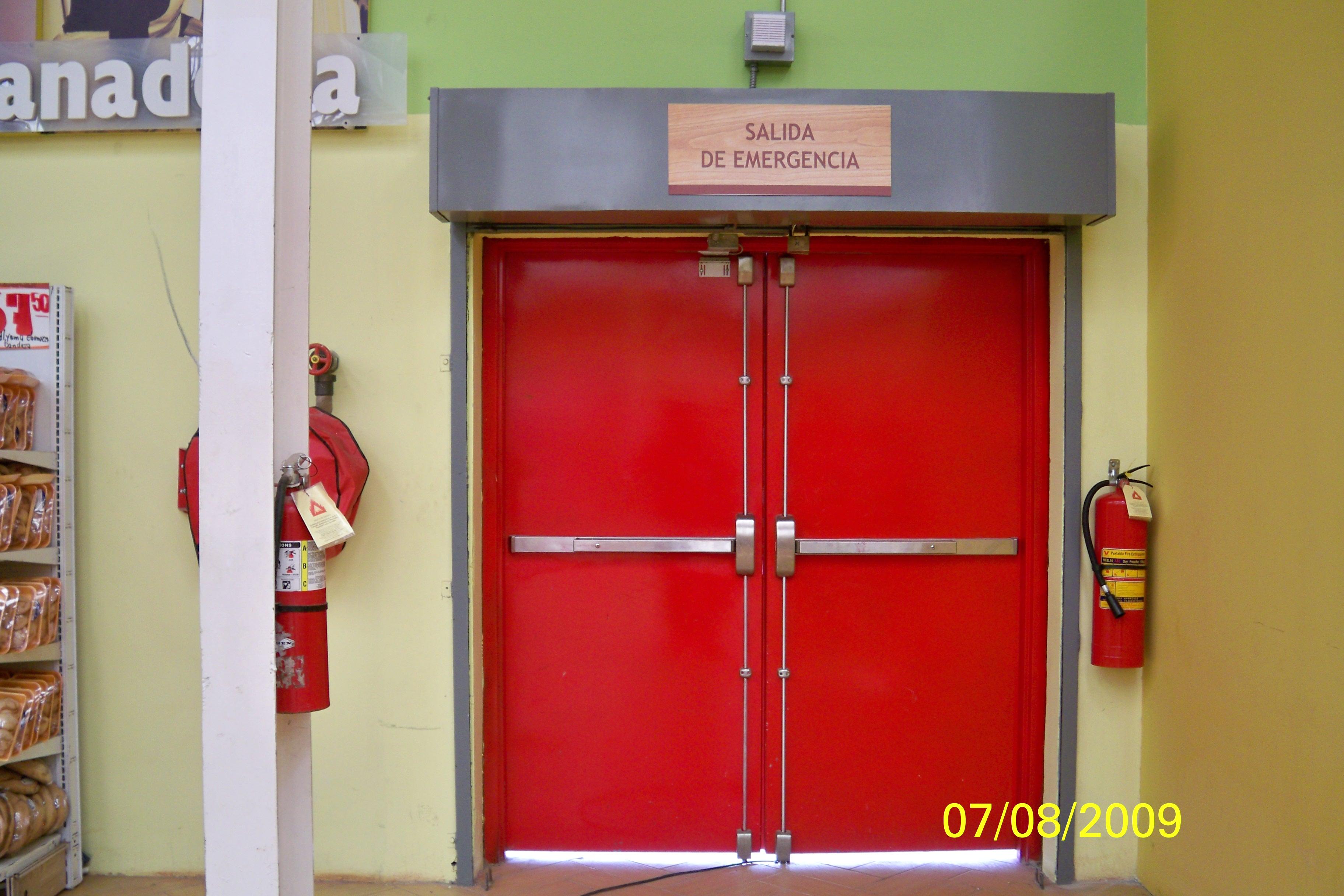 Puertas contra Incendios