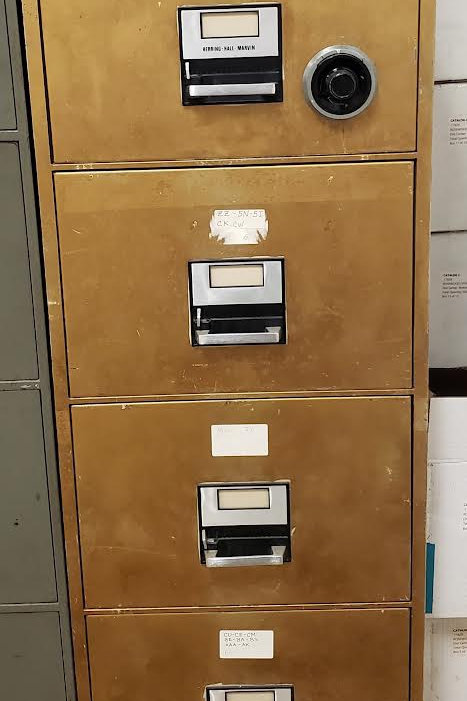 Gold Legal Size Fire File