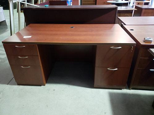 36 x 66 Double Pedestal Desk