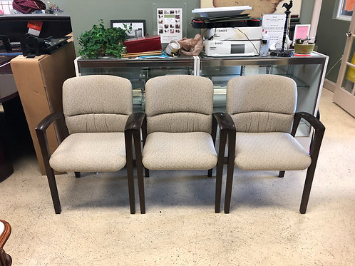 3 Guest Chairs