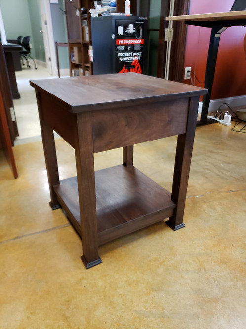 Davenport Table with Hidden Drawer