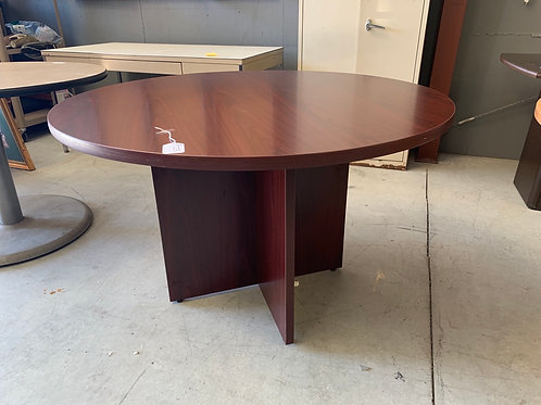 48 inch diameter Mahogany round table