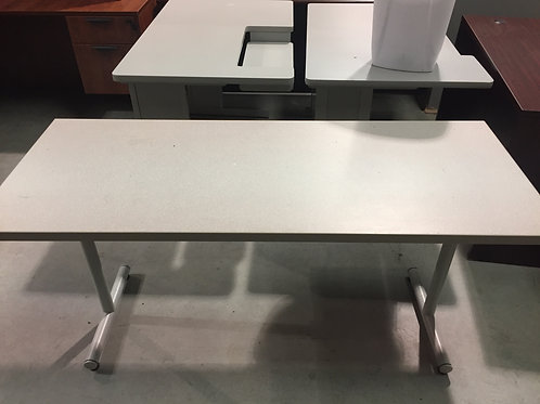 Gray Folding Table