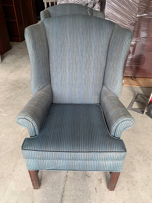 Two wing back guest chairs