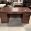 Thumbnail: Mahogany Executive Desk